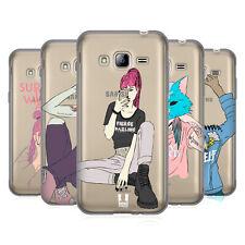 HEAD CASE DESIGNS BANJEE GRUNGE FASHION SOFT GEL CASE FOR SAMSUNG PHONES 3