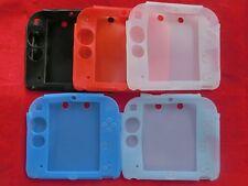 Silikon Hülle Schutzhülle Tasche Cover Softcase Bumper für Nintendo 2DS