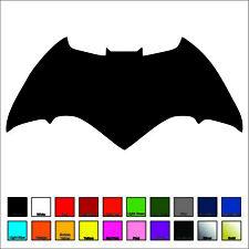 Batman Decal / Sticker - Choose Color & Size - Justice League, Ben Affleck