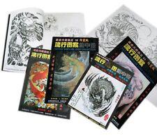 Tattoo-Flash-Libros -24 LIBROS A ELEJIR-Diseños Mezclados + dibujos de líneas