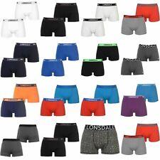 2 x Boxed Lonsdale Trunks 3XL XXXL Mens Underwear Pants Boxer Shorts