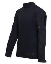 TRU-SPEC 2552 Military Combat Uniform Shirt - BLACK - FREE SHIPPING