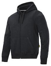 Snickers Workwear 2801 Classic Zip Hoodies Mens Hoodies SnickersDirect Black