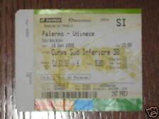 PALERMO UDINESE BIGLIETTO TICKET SERIE A 2007/08