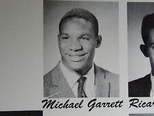 1961 MIKE GARRETT ROOSEVELT HIGH SCHOOL YEARBOOK HEISMAN TROPHY WINNER L.A. CA