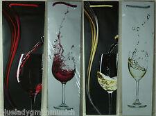 Geschenktüte ● WEIN ● DEKOR Flaschen KARTON Flaschentüte Flaschenbeutel Flaschen