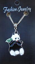 """18 """"o de 24 pulgadas Collar & Oso Panda encanto colgante ailuropoda melanoleuca"""