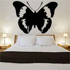 Grand Papillon Décalque Vinyle Autocollant Mural Art vintage shabby chic CHAMBRE