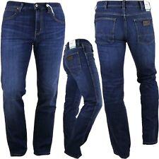 Wrangler Arizona W120UJ47R Jeans Dritto Blu Usato Elasticizzato