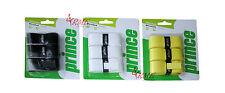 Prince Microzorb raqueta Antivibrador (disponible en negro, blanco, amarillo) - Paquete de 3