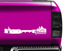 Florenz Aufkleber Florenz Skyline viele Farben  11 Farben 2 Größen