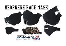 Face Ski Mask Snowboard half neoprene motorcycle anti dust cycling filter skull