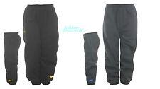 Bnwt garçons slazenger polaire pantalon/pantalon de jogging 2-4y noir/bleu marine hiver/chaud new