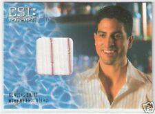 CSI MIAMI - ADAM RODRIQUEZ as ERIC DELKO - Costume Card