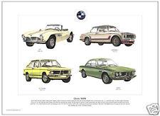 CLASSIC BMW - Fine Art Print - 507, 2002 Turbo, 3.0 CSL