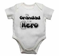 Mi abuelo es mi héroe-Bebé Chalecos monos bebé crece Estampado Gráfico
