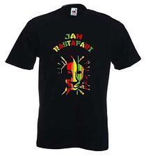 Jah rastafarianesimo T-Shirt-REGGAE LEONE di Giuda Rasta Marley rastafariana-S A 3XL