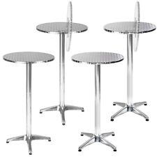 Tavolo bar bistrot rotondo alluminio da pub tavolino giardino tavolini 2 altezze