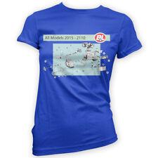 Robot Repair Womens T-Shirt x14 Colour Gift Movie Film Fan Manual Funny Mechanic