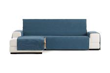 Funda azul para sofa antimancha Loira todos tamaños chais longue 1,2,3,4 plazas