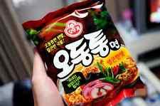 Korean Hot Spicy Instant Noodle OTTOGI ODONGTONG Ramen Ramyun 3,7,10ea