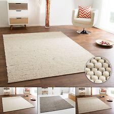 Handweb Teppich Benin aus 100% Schurwolle - beidseitig verwendbar