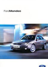 2002 Ford Mondeo German Prospekt Sales Brochure