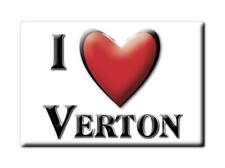 MAGNETS FRANCE - CENTRE CALAMITA SOUVENIR AIMANT I LOVE VERTON (PAS DE CALAIS)