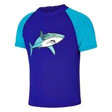 Boy's Speedo Shark Craze Suntop Rashie Rash Shirt. Size 2 - 3. NWT, RRP $50.00.