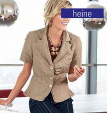Nuevo edelknitter Taft look! negligencia elegante Crash blazer 34 38 40 Heine * 047109