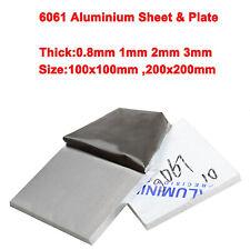 Alublech Aluminium Tafel 6061 Blech Platte 0.8mm 1mm 2mm 3mm Dicken Aluplatte