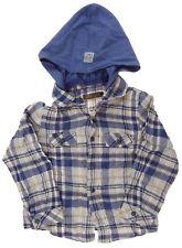 Jean Bourget chemise froissée capuche amovible  garçon 3 ans