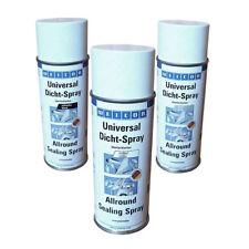 31,87 €/L - WEICON Universal Dicht-Spray 400ml - weiß grau schwarz - Dichtspray