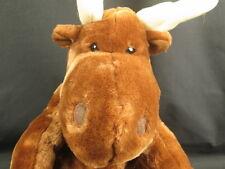 BIG KOHL'S CARES FOR KIDS WINTER MOOSE BROWN ANTLERS PLUSH STUFFED ANIMAL TOY