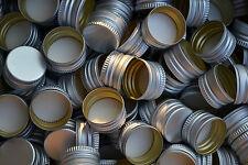 Schraubverschluss Ersatz Verschluss PP 18, 28, 31,5.. für Flaschen Neu Aluminium