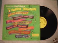 """Disneyland Records """"The HAPPIEST MILLIONAIRE"""" LP 1967"""