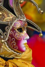 Wandsticker aufkleber deko : Maske Venedig - ref 1684 (16 größe)