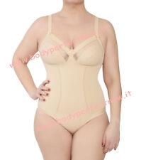 body donna contenitivo intimo rinforzo stomaco leggero bianco nero made in italy