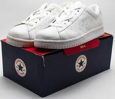 CONVERSE Vintage 2002 EV PRO OX shoes 1J067 White Men's sz 10 Women's sz 12