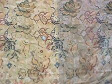 Ancien coupon de tissus d'ameublement en velours, linge