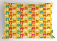 Safari Pillow Sham Decorative Pillowcase 3 Sizes Bedroom Decoration