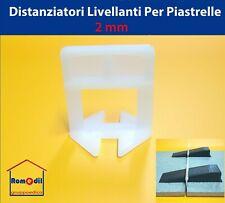 Distanziatori Livellanti autolivellanti livellatori piastrelle 2 mm 250 PC Cunei
