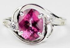 Pure Pink Topaz, 925 Sterling Silver Ring, SR021-Handmade