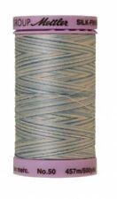Mettler 9085 Silk-Finish Variegated Cotton Thread 50 wt. 500 Yd/457 M Spool