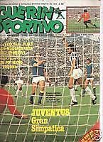 GUERIN SPORTIVO 1975/41 COVER FRANCO CAUSIO JUVENTUS **