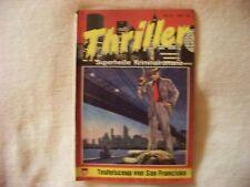 Thriller - Teufelscop in San Fransisco Kelter Romanheft