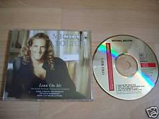 MICHAEL BOLTON Lean On Me EURO CD single live trks