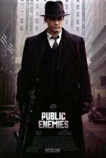 66238 Public Enemies Movie Johnny Depp hristian Bale Wall Print Poster Affiche