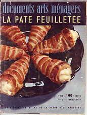 Cuisine ! La pâte feuilletée ! 1959 !