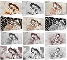 Quadri moderni Sacra Famiglia Capezzali cm.120x60 Arredo Casa Arte Stampa tela